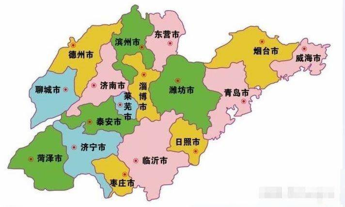 Image result for 山東地圖